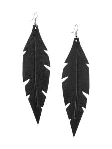 VIAMINNET - Feathers Grande -korvakorut - GLITTER MUSTA   Stockmann