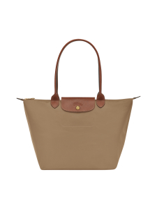 Longchamp - Le Pliage Shoulder Bag L - Laukku - DESERT | Stockmann