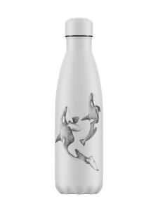 Chilly's - Sealife/ Orca -juomapullo 500ml - VALKOINEN | Stockmann
