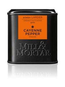 Mill & Mortar - Cayenne Pippuri jauhettu Luomu 45g | Stockmann