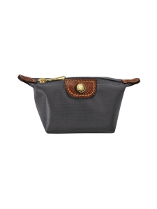Longchamp - LE PLIAGE-  COIN PURSE - KOLIKKOKUKKARO - GUN METAL | Stockmann