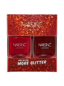 NAILS INC - Less Bitter More Glitter - kynsilakkapakkaus 2x14ml   Stockmann