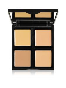 ELF Cosmetics - Foundation Palette Light/Medium -4 sävyn meikkivoidepaletti 12,4g | Stockmann