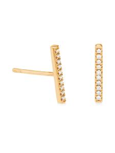 Korkeila Jewellery - Tirro - timanttikorvakorut - KELTAKULTA | Stockmann