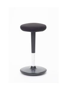 Stoo® Active Ergonomics - Stoo® Round aktiivituoli - Korkea 57 - 86 cm, musta/musta   Stockmann