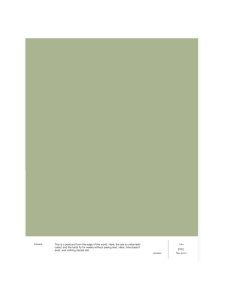 Cover Story - Sävymalli LB4 JILL - sage green | Stockmann