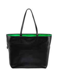 Viona Blu - W laukku Musta/neonvihreä - MUSTA | Stockmann
