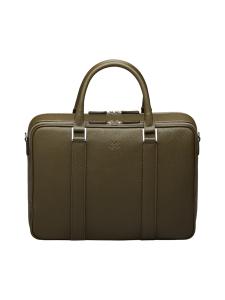 MMV Bags - Varese Onenighter Bag -nahkalaukku - MILITARE GREEN (VIHREÄ) | Stockmann