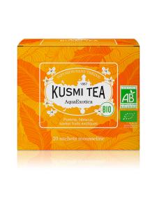 Kusmi Tea - Aqua Exotica Luomu Pussitee 20kpl 40g | Stockmann