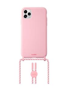 Laut - HUEX PASTELS NECKLACE iPhone 12/12 Pro -suojakuori - Candy - PINKKI | Stockmann
