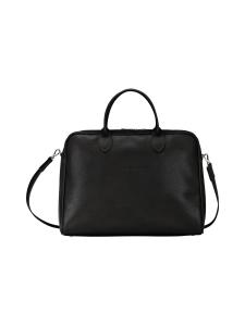 Longchamp - Le Foulonné - Briefcase L - Salkku - BLACK | Stockmann