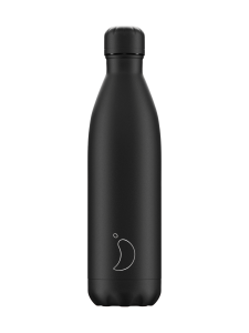Chilly's - All Black -juomapullo 750 ml - KOKOMUSTA | Stockmann