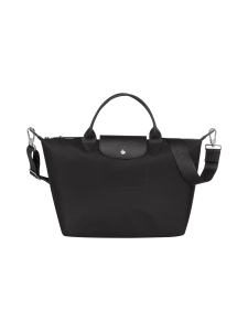 Longchamp - Le Pliage Néo Top handle bag M -Laukku - BLACK | Stockmann