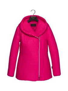 BELIEVE by tuula rossi - CELIA Pink Hupullinen Mini Stripe Tikattu Takki - PINK, PINKKI | Stockmann