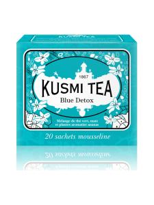Kusmi Tea - Blue Detox Hyvinvointi Pussitee 20kpl 44g | Stockmann