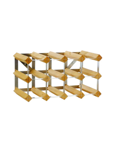 Traditional Wine Rack - Viinipulloteline 12 pulloa Light Oak - null | Stockmann