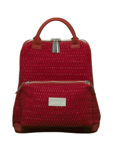 BELIEVE by tuula rossi - CITY Deep Red Stretch Tikkikangas Reppu - DEEP RED, PUNAINEN | Stockmann