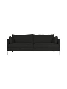 HT Collection - Nordic -sohva, 240 cm - MUSTA | Stockmann