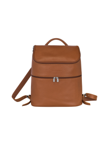 Longchamp - Le Foulonné Backpack - Reppu - CARAMEL | Stockmann
