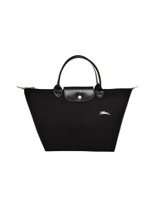 Longchamp - Le Pliage Club Top Handle Bag M -Laukku - BLACK | Stockmann