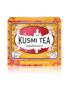 Kusmi Tea - AquaExotica Hedelmä Pussitee 20kpl 44g | Stockmann
