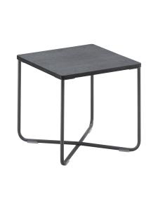 HT Collection - Nordic -sohvapöytä, Tumma 42 cm x 42 cm - MUSTA | Stockmann