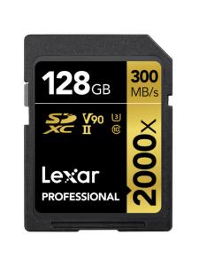 Lexar - Lexar 128GB Professional 2000x SDXC UHS-II U3   Stockmann