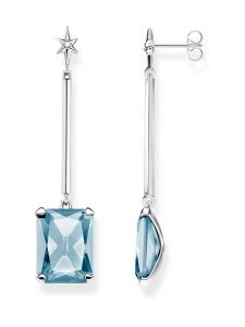 Thomas Sabo - Thomas Sabo Earrings Blue Stone With Star -korvakorut | Stockmann