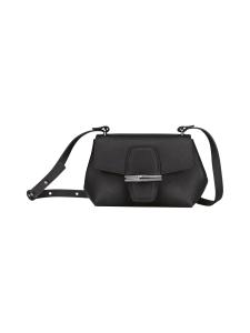 Longchamp - Roseau - Crossbody bag  XS - Nahkalaukku - BLACK | Stockmann