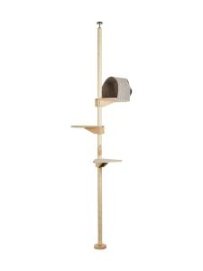 Kissapuu - Kissan Unelma kiipeily- ja raapimispuu, tammi & beige | Stockmann