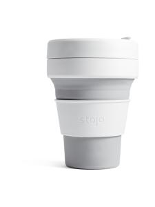 Stojo - Pocket Cup -kestokuppi 355 ml - HARMAA | Stockmann