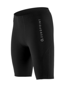Zero Point - Performance Compression Shorts Men - BLACK (MUSTA) | Stockmann