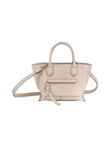 Longchamp - Mailbox Top Handle Bag S - Nahkalaukku - CHALK | Stockmann