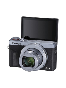 Canon - Canon PowerShot G7 X Mark III -digitaalikamera (hopea) | Stockmann