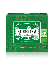 Kusmi Tea - Spearmint Vihreä Luomu Pussitee 20kpl 44g | Stockmann