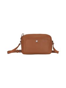 Longchamp - Le Foulonné Crossbody Bag - Nahkalaukku - CARAMEL | Stockmann
