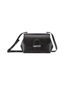 Longchamp - Roseau Box Crossbody Bag - Nahkalaukku - BLACK | Stockmann