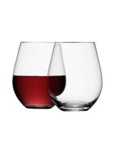 LSA International - Punaviinilasi Jalaton LSA Stemless Red Wine (4 kpl) | Stockmann