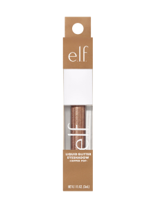 ELF Cosmetics - Liquid Glitter Eyeshadow Copper Pop -nestemäinen luomiväri 3ml | Stockmann