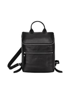 Longchamp - Le Foulonné Backpack - Reppu - BLACK | Stockmann