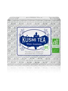 Kusmi Tea - Anastasia Valkoinen Luomu Pussitee 20kpl 40g | Stockmann