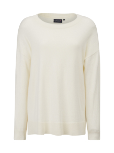Lexington - Lizzie Cotton/Cashmere Sweater - VALKOINEN | Stockmann