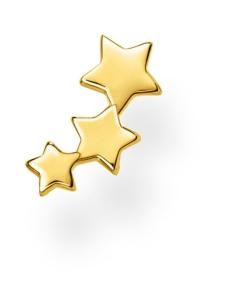 Thomas Sabo - Thomas Sabo Single Ear Stud Stars Gold -korvakoru   Stockmann