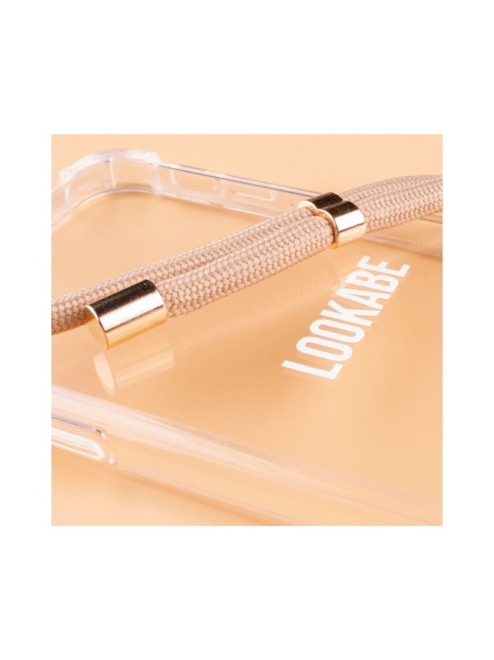 LOOKABE - Phone Necklace kotelo + kaulanauha Iphone XS/S - CLEAR/NUDE | Stockmann - photo 2