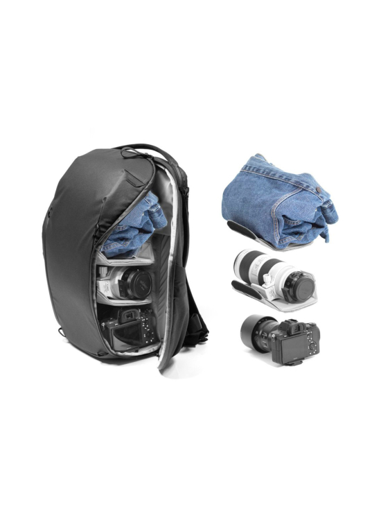 Peak Design - Peak Design Everyday Backpack ZIP 15L kamerareppu - Midnight | Stockmann - photo 9