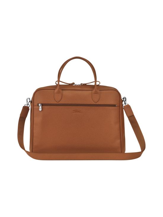 Longchamp - Le Foulonné - Briefcase M - Salkku - CARAMEL   Stockmann - photo 3