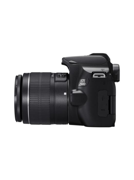 Canon - Canon EOS 250D + 18-55mm IS STM -järjestelmäkamera Kit - Musta - null | Stockmann - photo 4