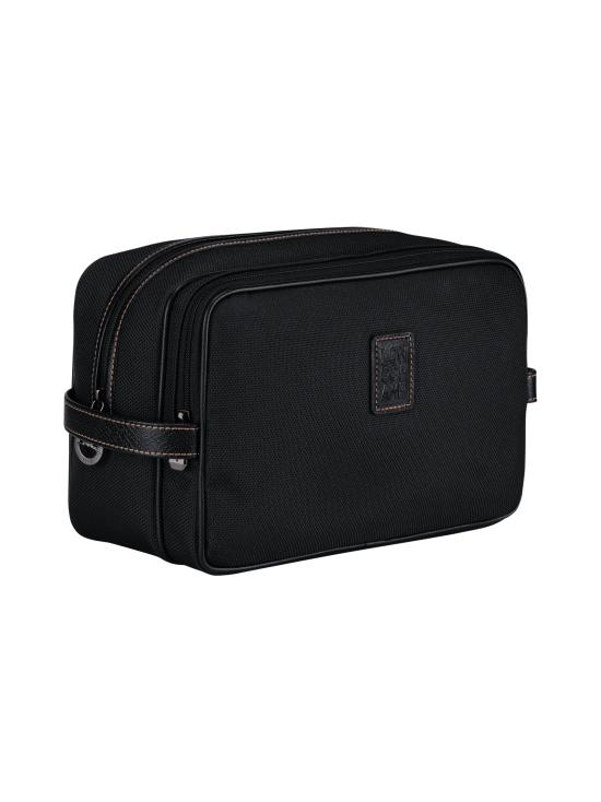 Longchamp - Boxford - Toiletry Case - Toilettilaukku - BLACK | Stockmann - photo 2