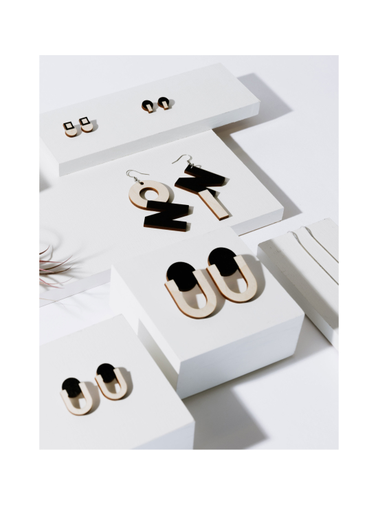 YO ZEN - Future -mininappikorvakorut, musta - MUSTA | Stockmann - photo 3