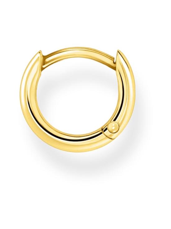 Thomas Sabo - Thomas Sabo Single Hoop Earring Classic Gold -korvakoru   Stockmann - photo 2